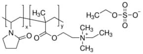 Poly[(2-ethyldimethylammonioethyl methacrylate ethyl sulfate)-co-(1-vinylpyrrolidone)]