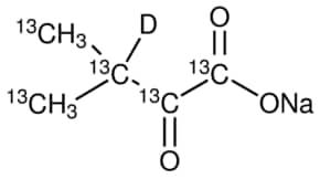 2-Keto-3-methylbutyric acid-13C5,3-d sodium salt