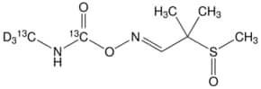 Aldicarb-(N-methyl-13C,d3, carbamoyl-13C) sulfoxide