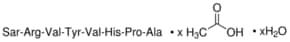 [Sar1, Val5, Ala8]-Angiotensin II acetate salt hydrate