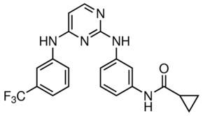 Cyclopropanecarboxylic acid {3-[4-(3-trifluoromethyl-phenylamino)-pyrimidin-2-ylamino]-phenyl}-amide