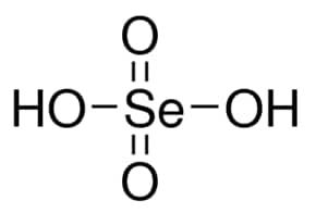 Selenic acid solution