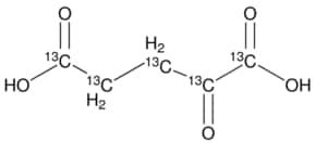 2-Ketoglutaric acid-13C5 ≥99 atom % 13C, ...