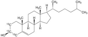Cholesterol-2,3,4-13C3