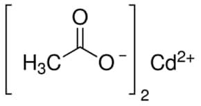 Cadmium(II) acetate anhydrous, 99.995 %   543-90-8   Sigma-Aldrich
