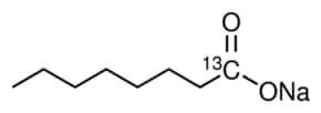Sodium octanoate-1-13C