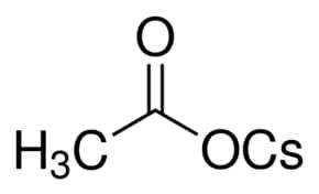 Cesium acetate ≥99 99% trace metals basis | Sigma-Aldrich