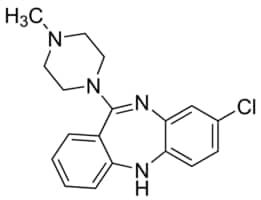 Clozapine solution