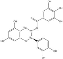 (±)-Catechin-2,3,4-13C3 gallate