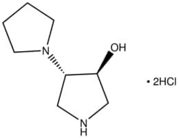 trans-1,3′-Bipyrrolidin-4′-ol dihydrochloride